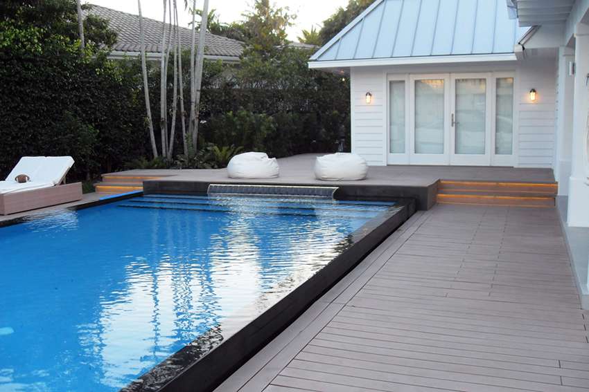 Terrass, decking, aed, fence, laudis, wall cladding