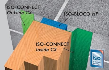 Bloco HF isepaisuv lint 1, akende paigaldus lint, soojustus, aurutõke, paisuteip