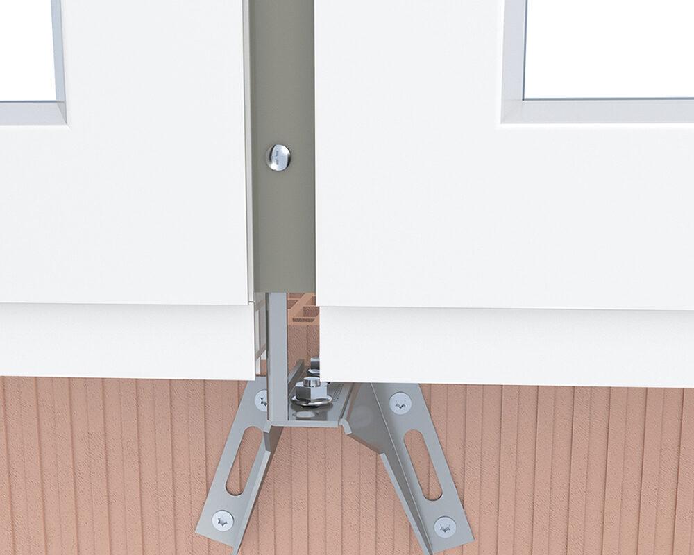 Termoraam, akende paigaldus, paigaldusankur, paigaldusraam, aknapaigaldusraam, aknapaigaldussüsteem, aknapaigaldusprofiil, aknapaigaldus, montaažisüsteem, alustugi, paigaldusdetail, kandur, energiasäästlik, kulusäästlik, külmasild,fassaadinurgik, montaažiankur, montaažiplaat, metallist ankur, metallist konsool, paigalduskonsool, paigaldussiin, paigaldusankur, kinnituslahendus, profiilplekist ankrud, Knelsen